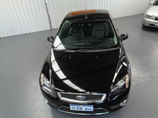 2007 Ford Focus LT Coupe Cabriolet Black 4 Speed Sports Automatic Convertible