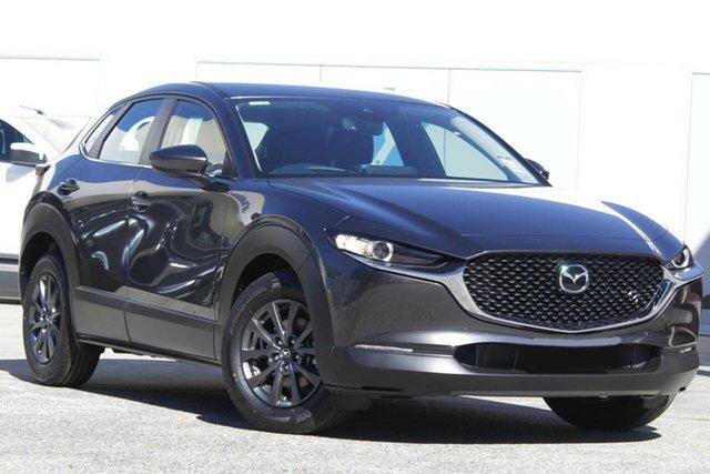 New Mazda CX-30 DM2W7A G20 SKYACTIV-Drive Evolve Liverpool, 2021 Mazda CX-30 DM2W7A G20 SKYACTIV-Drive Evolve Machine Grey 6 Speed Sports Automatic Wagon