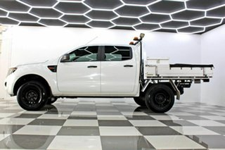 2014 Ford Ranger PX XL 2.2 Hi-Rider (4x2) White 6 Speed Automatic Crew Cab Chassis