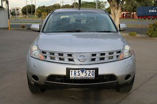 2005 Nissan Murano Z50 ST Silver Continuous Variable Wagon.