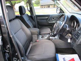2013 Mitsubishi Pajero NW MY13 GLX-R LWB (4x4) Black 5 Speed Automatic Wagon