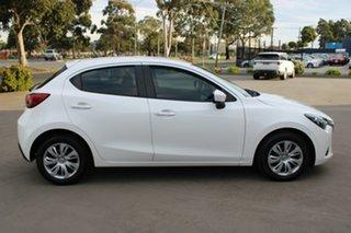 2016 Mazda 2 DJ MY16 Neo White 6 Speed Automatic Hatchback