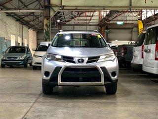 2014 Toyota RAV4 ASA44R MY14 GX AWD Silver 6 Speed Sports Automatic Wagon.