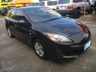 2013 Mazda 3 BM5478 Neo SKYACTIV-Drive Black 6 Speed Sports Automatic Hatchback.