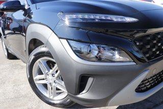 2021 Hyundai Kona Os.v4 MY21 2WD Black 8 Speed Constant Variable Wagon.