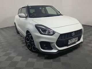 2019 Suzuki Swift AZ Sport Pure White 6 Speed Sports Automatic Hatchback.