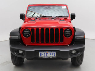 2021 Jeep Wrangler Unlimited JL MY21 Night Eagle (4x4) Red 8 Speed Automatic Hardtop.