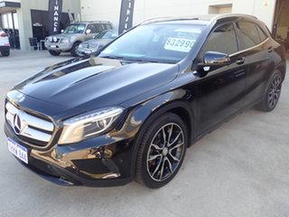 2014 Mercedes-Benz GLA X156 MY15 200 CDI Black Magic 7 Speed Auto Dual Clutch Wagon