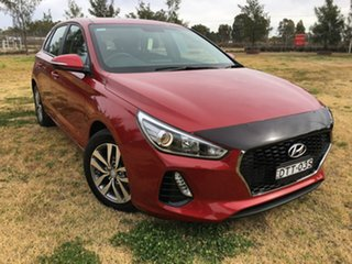 2018 Hyundai i30 PD Active Red Sports Automatic Dual Clutch.