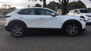 2021 Mazda CX-30 DM2WLA G25 SKYACTIV-Drive Touring White Pearl 6 Speed Sports Automatic Wagon