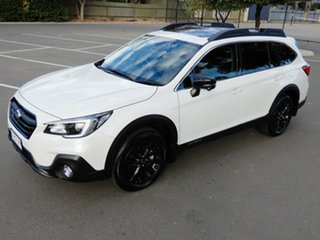 2020 Subaru Outback B6A MY20 2.5i-X CVT AWD White 7 Speed Constant Variable Wagon