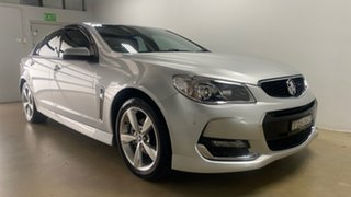2015 Holden Commodore VF II SV6 Silver 6 Speed Automatic Sedan.