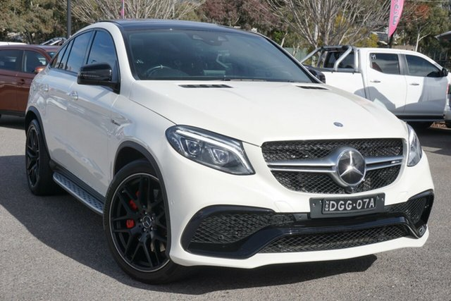 Used Mercedes-Benz GLE-Class C292 GLE63 AMG Coupe SPEEDSHIFT PLUS 4MATIC S Phillip, 2016 Mercedes-Benz GLE-Class C292 GLE63 AMG Coupe SPEEDSHIFT PLUS 4MATIC S White 7 Speed