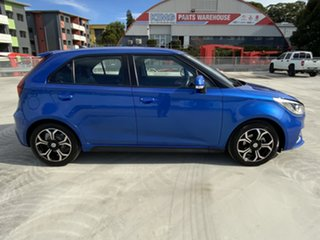 2019 MG MG3 SZP1 MY18 Excite Blue 4 Speed Automatic Hatchback
