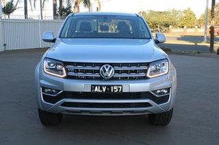2017 Volkswagen Amarok 2H MY17 V6 TDI 550 Highline Silver 8 Speed Automatic Dual Cab Utility.