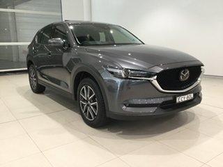 2019 Mazda CX-5 KF4WLA GT SKYACTIV-Drive i-ACTIV AWD Machine Grey 6 Speed Sports Automatic Wagon.