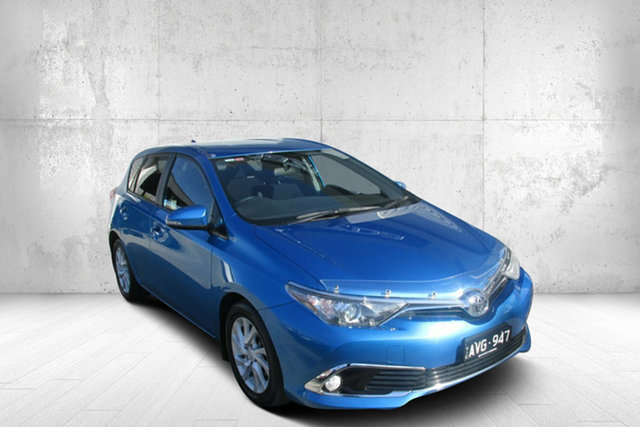 Used Toyota Corolla ZRE182R Ascent Sport S-CVT Bendigo, 2018 Toyota Corolla ZRE182R Ascent Sport S-CVT Blue 7 Speed Constant Variable Hatchback