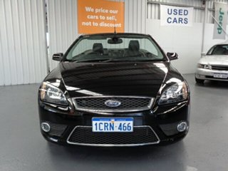 2007 Ford Focus LT Coupe Cabriolet Black 4 Speed Sports Automatic Convertible.