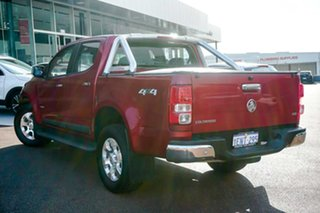 2014 Holden Colorado RG MY14 LTZ Crew Cab Red 6 Speed Sports Automatic Utility.