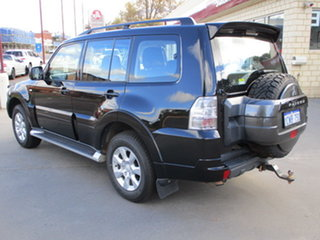 2013 Mitsubishi Pajero NW MY13 GLX-R LWB (4x4) Black 5 Speed Automatic Wagon.