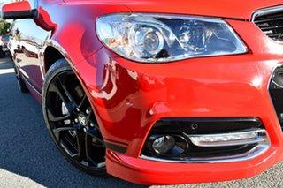 2014 Holden Commodore VF MY15 SS V Redline Red 6 Speed Manual Sedan.