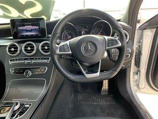 2017 Mercedes-Benz C-Class W205 807+057MY C250 d 9G-Tronic Silver 9 Speed Sports Automatic Sedan