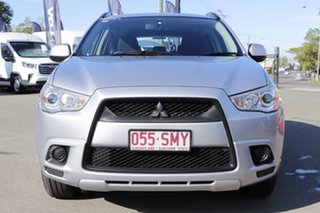 2012 Mitsubishi ASX XA MY12 2WD Cool Silver 6 Speed Constant Variable Wagon