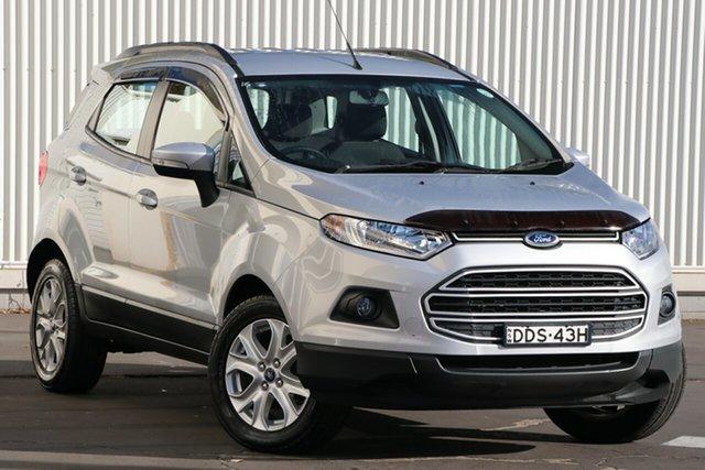 Used Ford Ecosport BK Trend PwrShift Wollongong, 2016 Ford Ecosport BK Trend PwrShift Silver 6 Speed Sports Automatic Dual Clutch Wagon