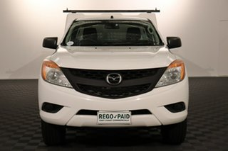 2015 Mazda BT-50 UP0YD1 XT 4x2 Hi-Rider White 6 speed Automatic Cab Chassis.