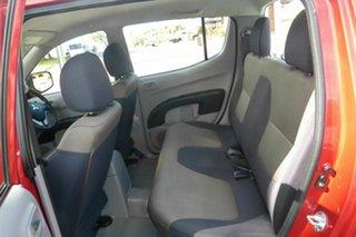 2008 Mitsubishi Triton ML MY09 GLX Double Cab 4x2 Red 5 Speed Manual Utility