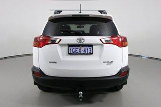 2015 Toyota RAV4 ASA44R MY14 Upgrade GX (4x4) White 6 Speed Automatic Wagon