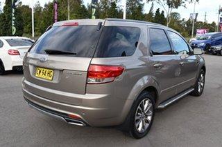 2015 Ford Territory SZ MkII Titanium Seq Sport Shift Gold 6 Speed Sports Automatic Wagon.