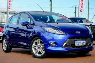 2013 Ford Fiesta WT Zetec PwrShift Blue 6 Speed Sports Automatic Dual Clutch Hatchback.