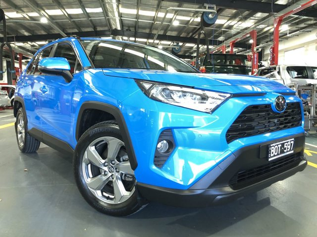 Pre-Owned Toyota RAV4 Mxaa52R GXL 2WD Oakleigh, 2019 Toyota RAV4 Mxaa52R GXL 2WD Eclectic Blue 10 Speed Constant Variable Wagon