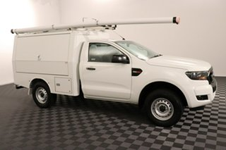 2016 Ford Ranger PX MkII XL Hi-Rider Cool White 6 speed Automatic Cab Chassis