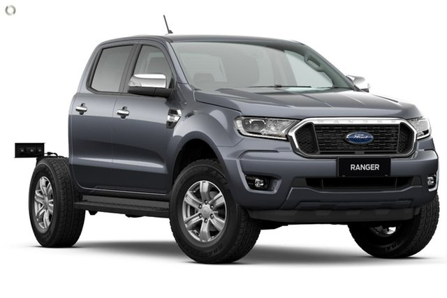 New Ford Ranger PX MkIII 2021.25MY XLT Double Cab Oakleigh, 2021 Ford Ranger PX MkIII 2021.25MY XLT Double Cab Grey 10 Speed Sports Automatic Double Cab Chassis