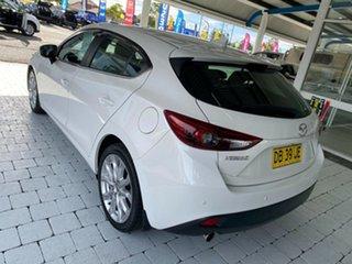 2016 Mazda 3 SP25 White Sports Automatic Hatchback