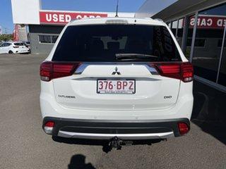 2015 Mitsubishi Outlander ZK MY16 XLS 4WD White 6 Speed Sports Automatic Wagon