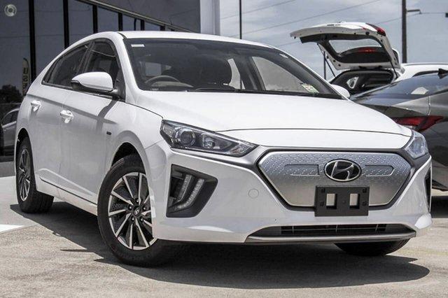 New Hyundai Ioniq AE.V4 MY21 electric Elite Oakleigh, 2021 Hyundai Ioniq AE.V4 MY21 electric Elite White 1 Speed Reduction Gear Fastback