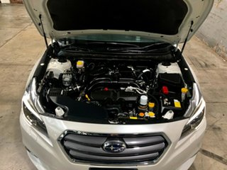 2015 Subaru Liberty B6 MY15 2.5i CVT AWD Premium White/leatrher 6 Speed Constant Variable Sedan