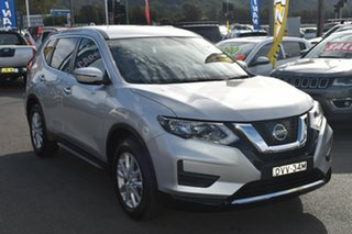2017 Nissan X-Trail T32 ST X-tronic 4WD Brilliant Silver 7 Speed Constant Variable Wagon.