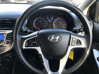 2011 Hyundai Accent RB Active Aqua Marine 5 Speed Manual Sedan