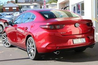 2020 Mazda 3 BP2SLA G25 SKYACTIV-Drive Astina Soul Red Crystal 6 Speed Sports Automatic Sedan.