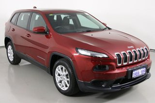2015 Jeep Cherokee KL MY15 Sport (4x2) Red 9 Speed Automatic Wagon