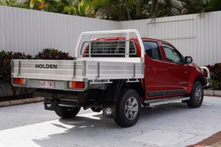 2014 Holden Colorado RG MY14 LX Crew Cab Red 6 Speed Manual Cab Chassis
