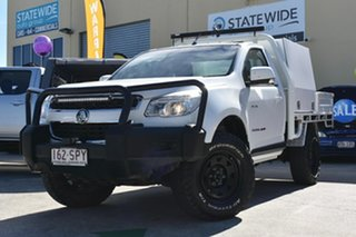 2012 Holden Colorado RG LX (4x4) White 5 Speed Manual Crew Cab Chassis.