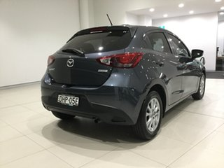 2016 Mazda 2 DJ2HAA Maxx SKYACTIV-Drive Metropolitan Grey 6 Speed Sports Automatic Hatchback.