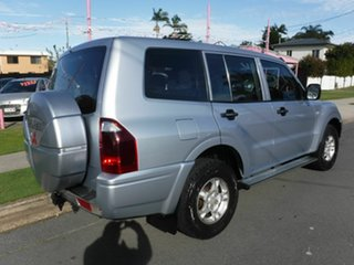 2004 Mitsubishi Pajero NP GLX Silver 5 Speed Automatic Wagon.