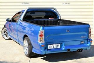 2002 Ford Falcon BA XR6 Turbo Ute Super Cab Blue 4 Speed Sports Automatic Utility