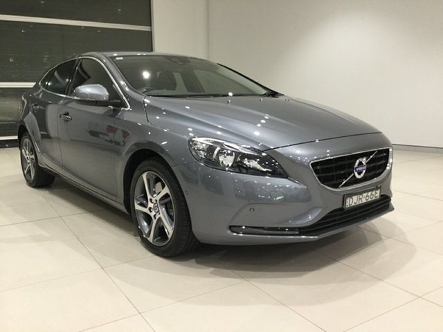 Used Volvo V40 M Series MY16 T3 Adap Geartronic Kinetic Alexandria, 2016 Volvo V40 M Series MY16 T3 Adap Geartronic Kinetic Osmium Grey/dynamic, 6 Speed
